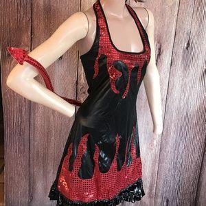 Dresses & Skirts - Devil Costume Adult Woman Medium